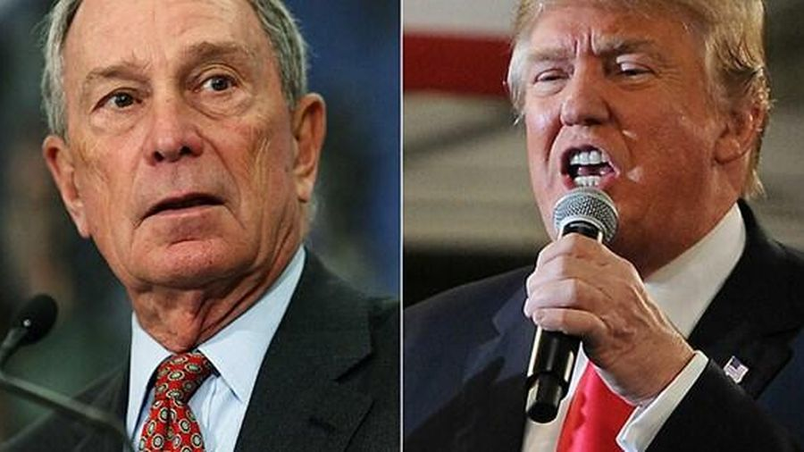 Michael Bloomberg giàu gấp 17 lần Donald Trump