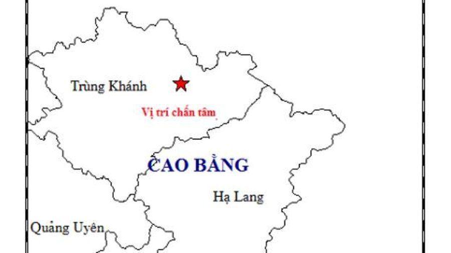 Động đất tại Cao Bằng, Hà Nội cảm nhận rung chấn