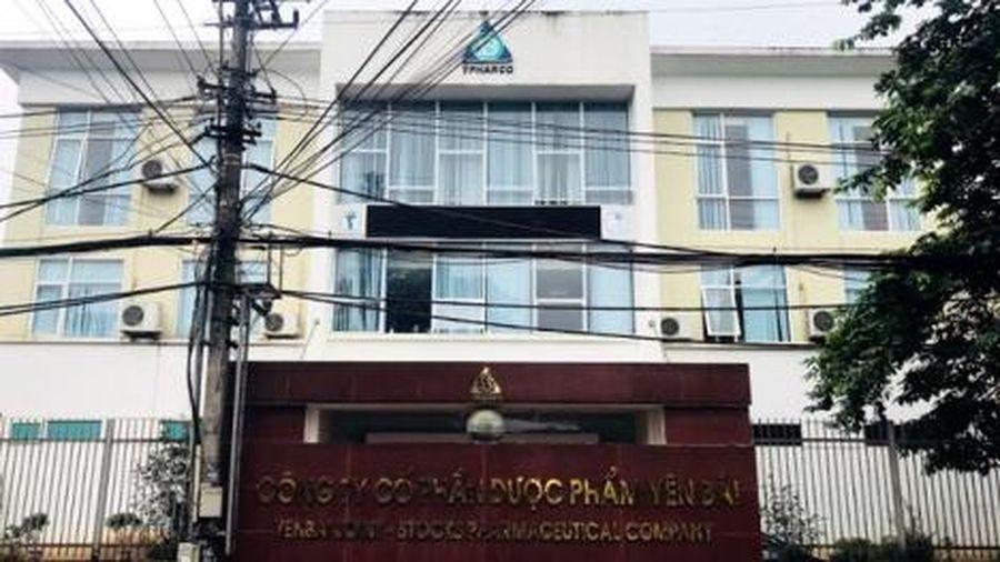 Công ty Cổ phần Dược phẩm Yên Bái bị xử phạt 85 triệu đồng