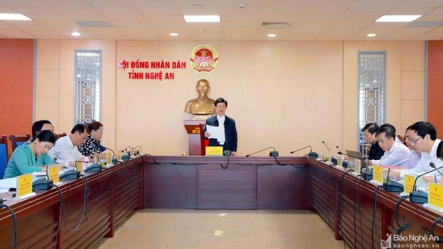 HĐND tỉnh Nghệ An sẽ chất vấn về đấu tranh chống tội phạm ma túy, gian lận thương mại