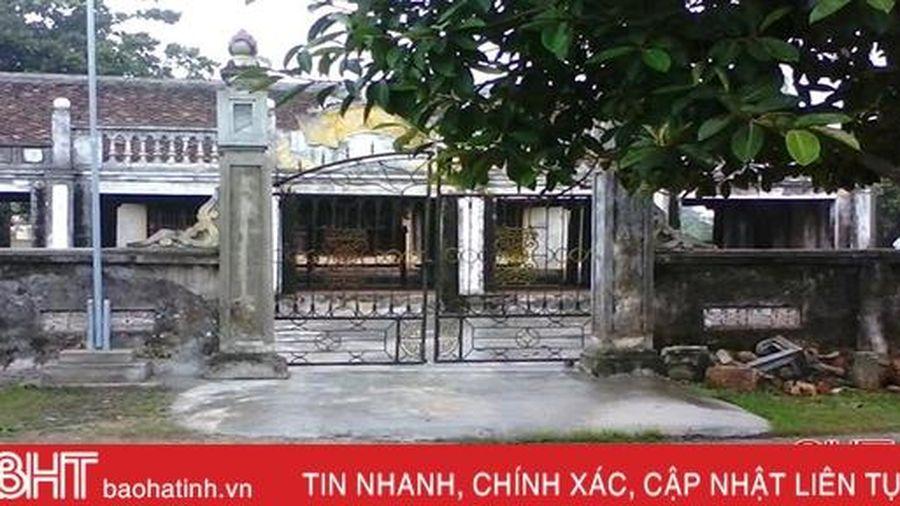 Ngói nát, cột mục, đình làng 300 năm tuổi vùng di sản Hà Tĩnh 'kêu cứu'!