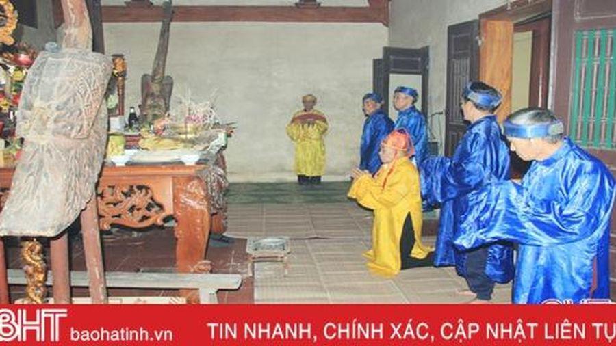 Nghi Xuân trang trọng tổ chức Lễ giỗ Thái sư Cương quốc công Nguyễn Xí