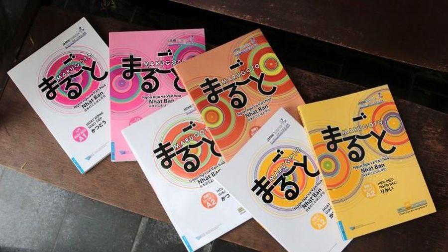 Giáo trình tiếng Nhật 'Marugoto' được giảng dạy ở nhiều trường tại Việt Nam