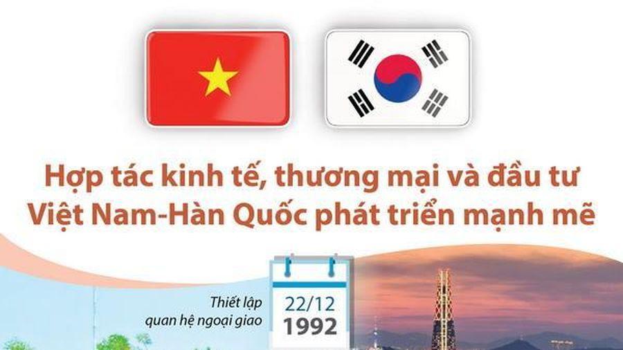 Hợp tác thương mại và đầu tư Việt Nam-Hàn Quốc phát triển mạnh mẽ