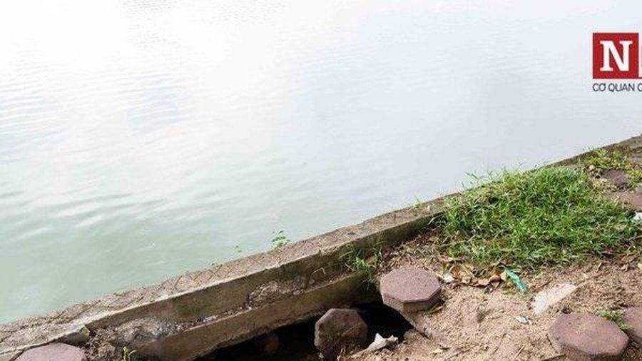 Kè bờ Hồ Gươm bằng bê tông đúc sẵn, diện tích hồ sẽ bị thu hẹp