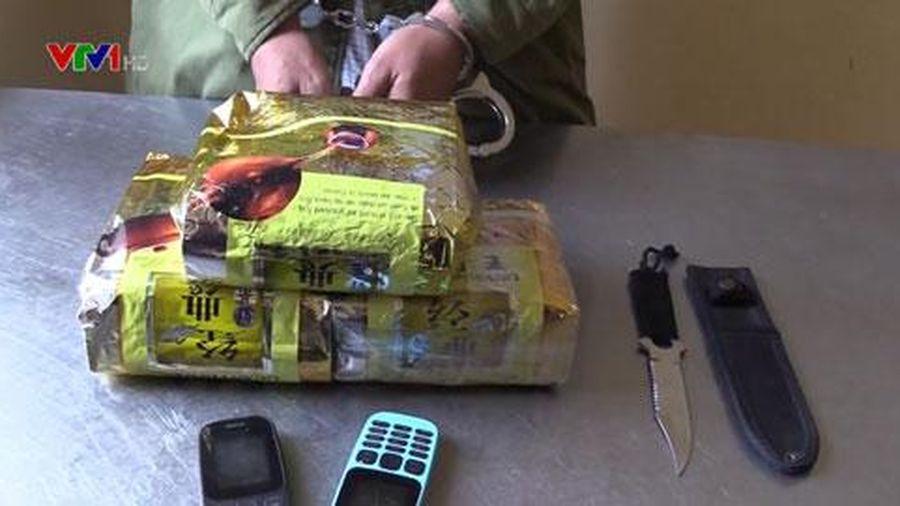 Bắt đối tượng vận chuyển 3kg ma túy đá tại Nghệ An