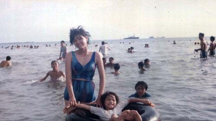 Ngỡ ngàng ảnh ngố tàu ngày bé, chưa nổi tiếng của Nhật Kim Anh