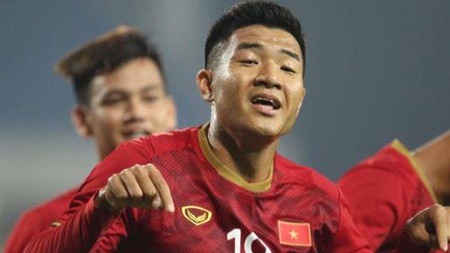 CLIP: Đức Chinh lập cú đúp vào lưới U22 Brunei