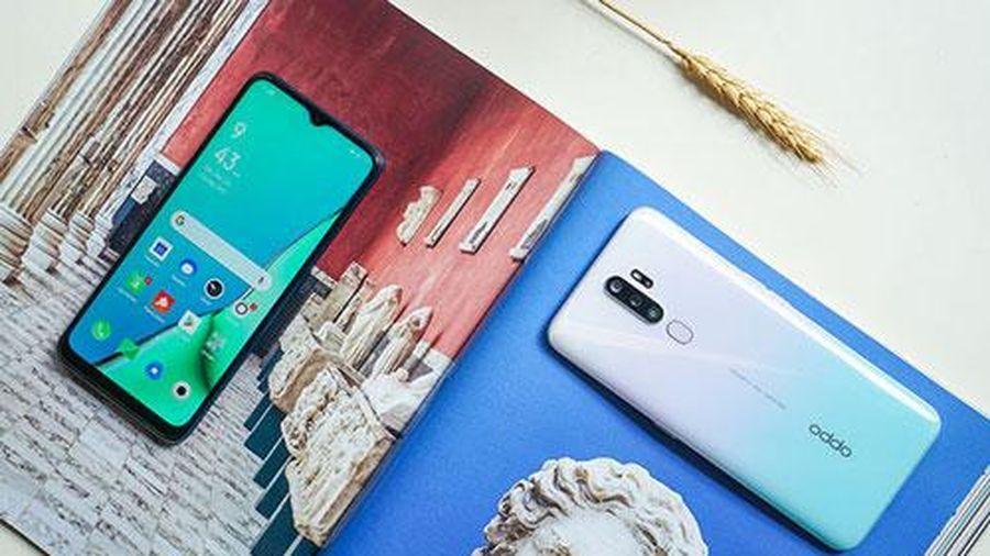 Oppo A9 2020 có thêm bản màu trắng ngọc thạch, giá không đổi 6,99 triệu đồng