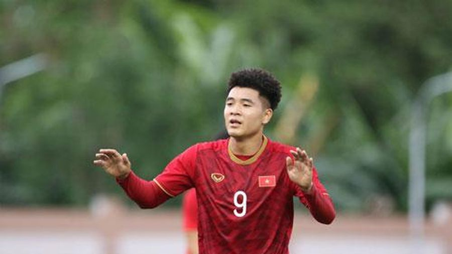 CLIP: Đức Chinh hoàn tất hat-trick vào lưới U22 Brunei