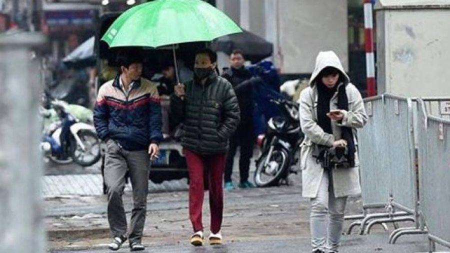 Chiều nay không khí lạnh tràn về, Hà Nội sẽ đón rét tới hết tuần