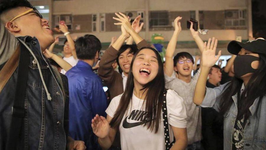 Kết quả bầu cử ở Hồng Kông: Phe ủng hộ dân chủ chiến thắng áp đảo