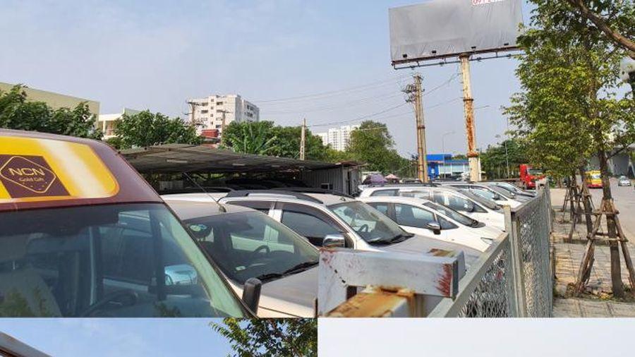 Ai tiếp tay để 'chợ' ô tô hoạt động công khai cạnh cây xăng dầu?