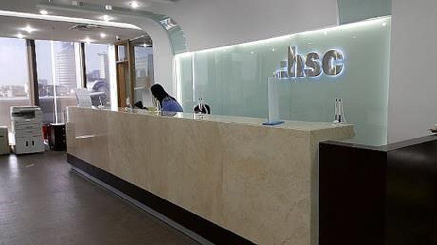 HSC trả cổ tức bằng tiền mặt 5%