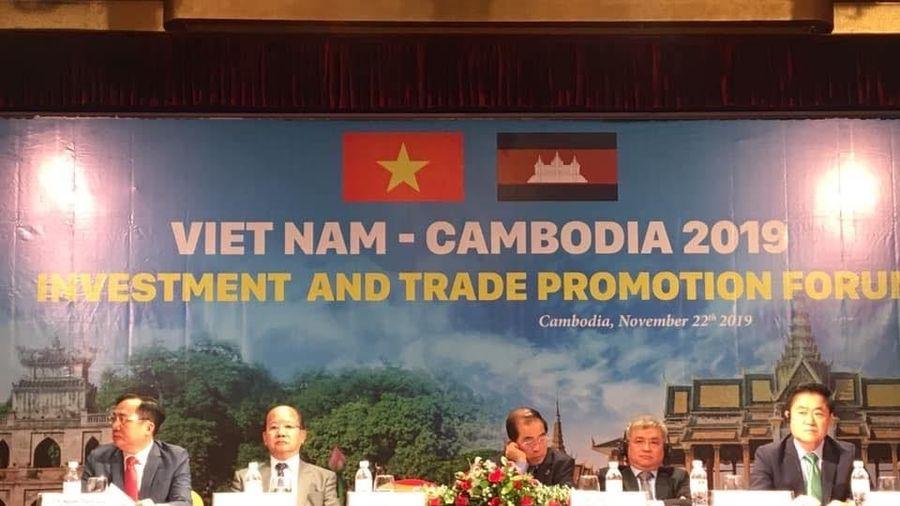 Diễn đàn xúc tiến Đầu tư - Thương mại Việt Nam - Campuchia