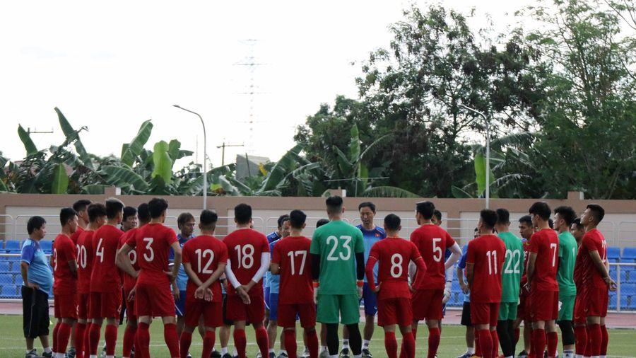Đội tuyển U22 Việt Nam sẵn sàng cho hành trình chinh phục HCV SEA Games