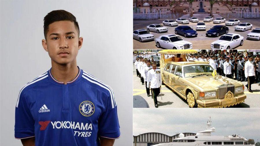 Cầu thủ Brunei đối đầu U22 Việt Nam khiến dân mạng 'phát hờn' vì quá giàu: Sở hữu hơn 2.300 ô tô, 8 máy bay Boeing