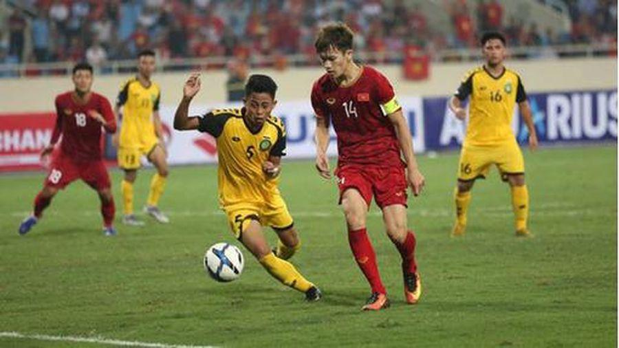 Lịch sử bóng đá Việt Nam từng thắng đậm Brunei như thế nào?