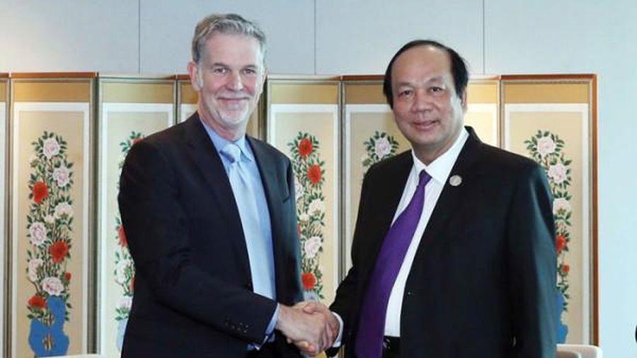 Bộ trưởng Mai Tiến Dũng đề nghị Netflix sản xuất phim, quay cảnh tại Việt Nam