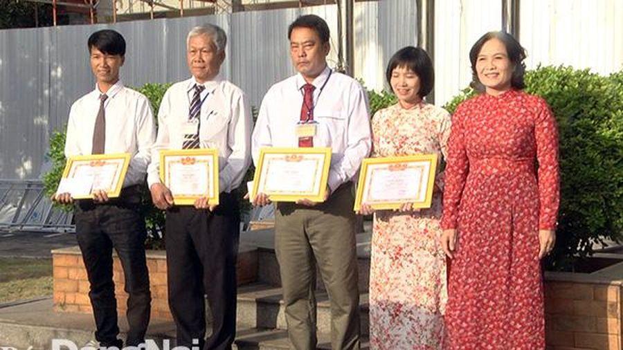 Xuân Lộc khen thưởng 4 cá nhân ngăn chặn kịp thời vụ án làm sổ đỏ giả