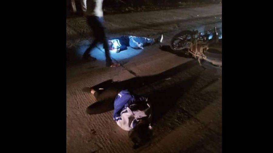 Bắc Giang: Va chạm xe máy trong đêm, 1 nữ sinh tử vong, 2 người nguy kịch