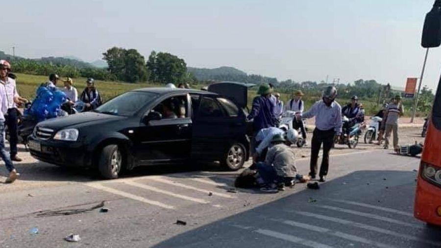 Hải Dương: Va chạm với ô tô khách, 2 người tử vong
