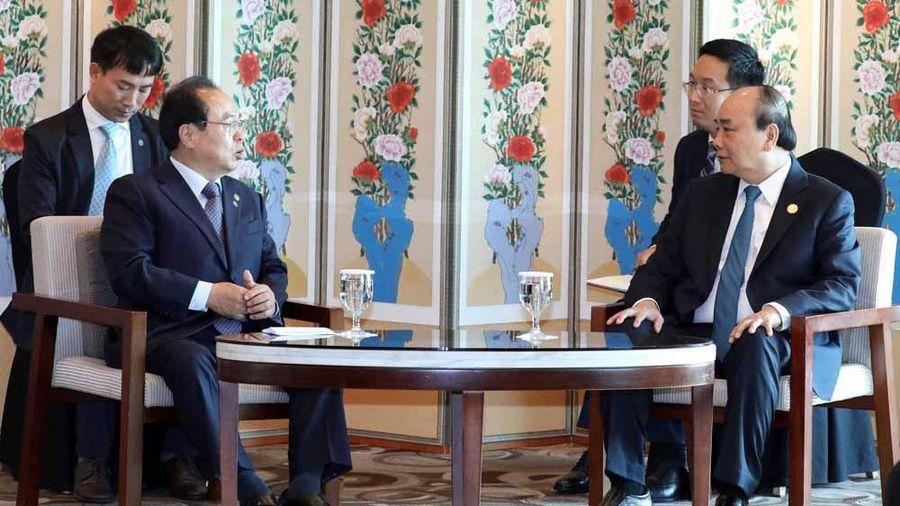 Thủ tướng tiếp Thị trưởng Thành phố Busan-Hàn Quốc