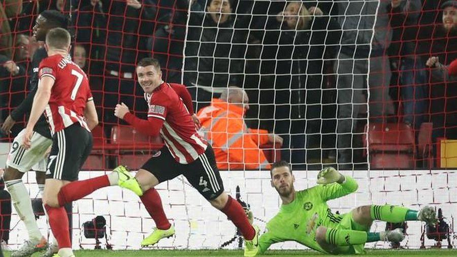 Man Utd hòa Sheffield trong trận cầu kịch tính nhất từ đầu mùa