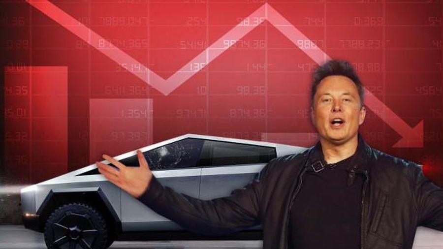 Vừa ra mắt xe bán tải Cybertruck, Elon Musk mất ngay 768 triệu USD