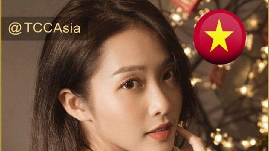 Khả Ngân lọt top 100 gương mặt đẹp nhất châu Á