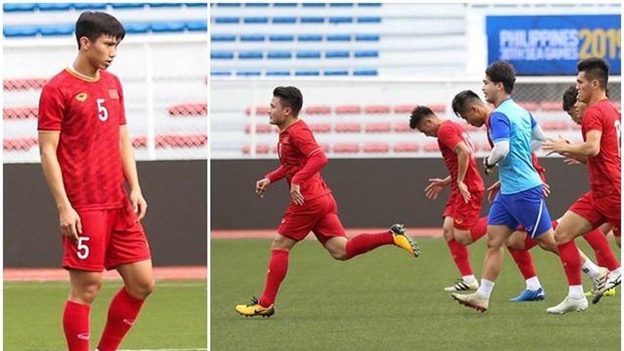 Văn Hậu, Quang Hải sung sức, sẵn sàng ra mắt SEA Games