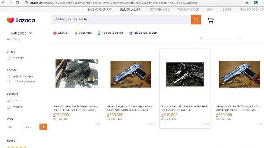 Lazada cho phép bán nhiều sản phẩm đồ chơi nguy hiểm