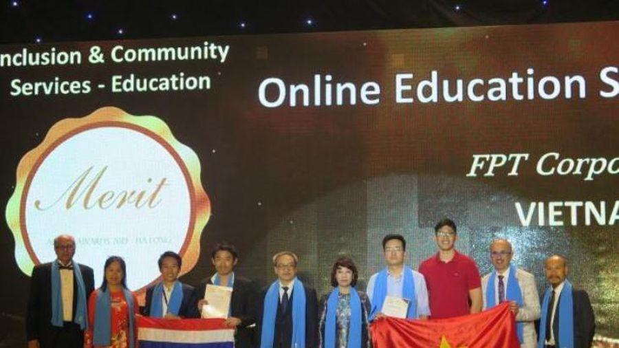 Sản phẩm giáo dục Việt duy nhất nhận giải thưởng quốc tế APICTA 2019