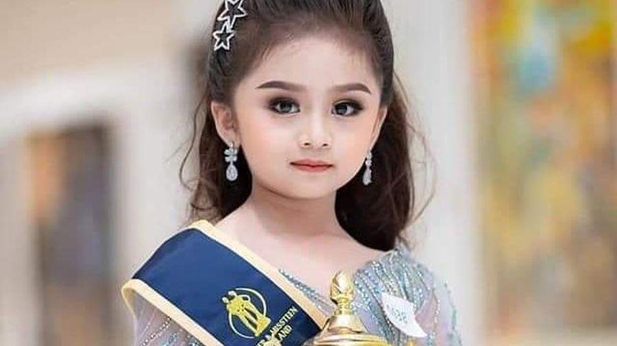Cô bé 6 tuổi đăng quang Hoa hậu nhí Thái Lan 2019