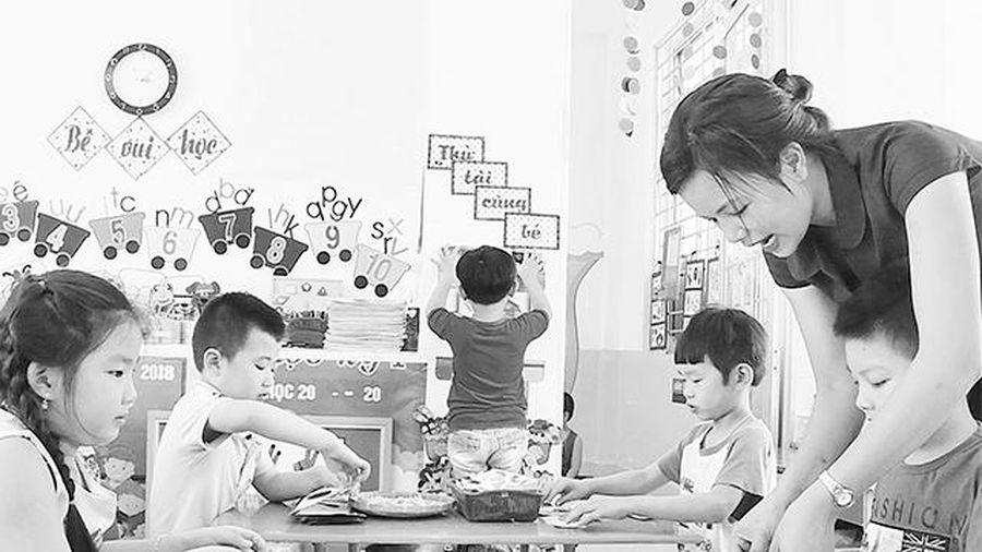 Tạo cơ hội sáng tạo cho trẻ mầm non
