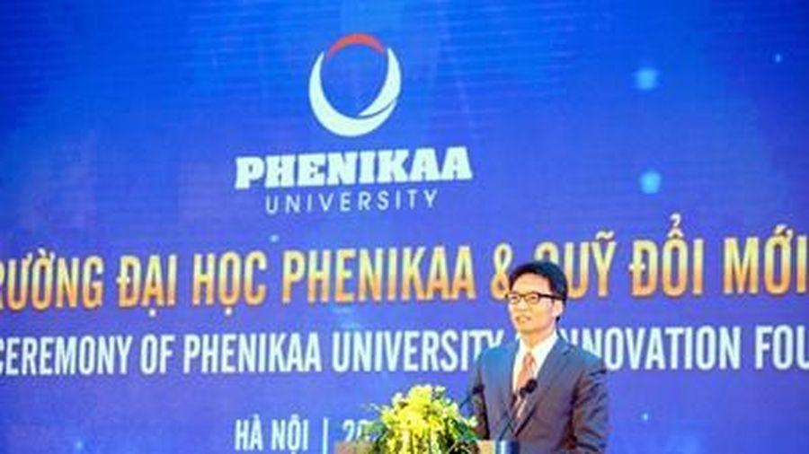 Lễ ra mắt Trường Đại học Phenikaa và Quỹ Đổi mới Sáng tạo Phenikaa
