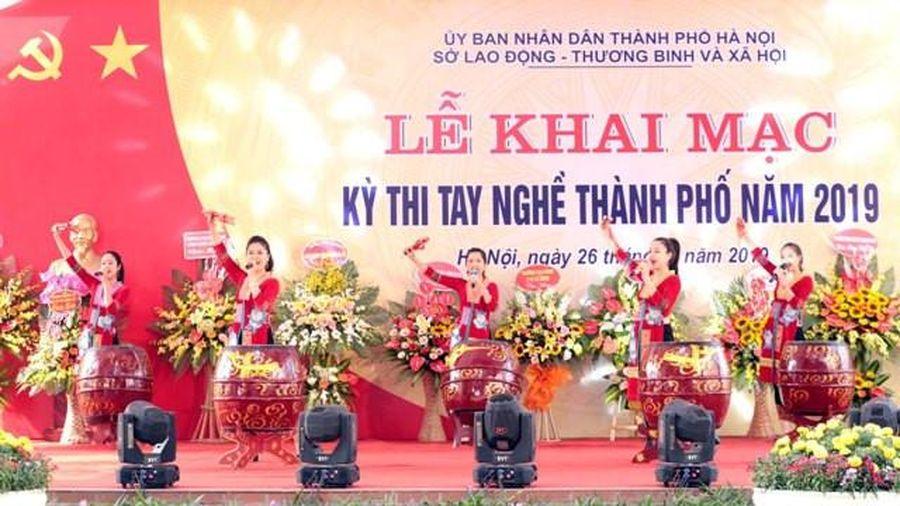Hà Nội: 362 thí sinh tham dự Kỳ thi tay nghề năm 2019