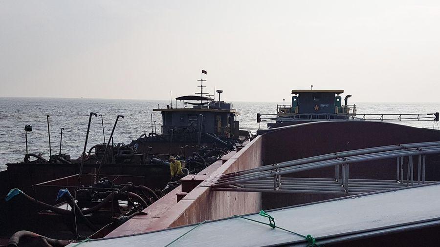 Cứu tàu gặp nạn trên vùng biển Hải Phòng