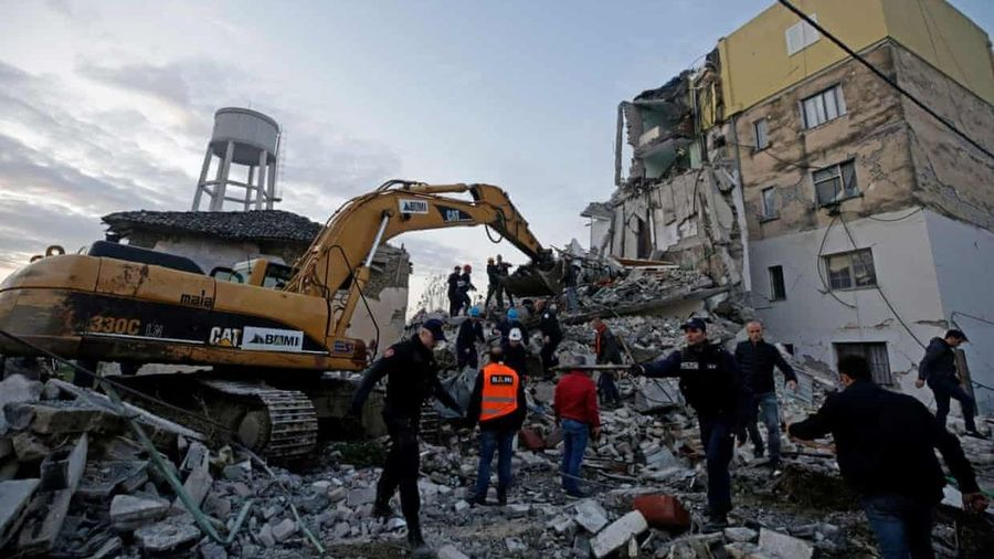 Động đất kinh hoàng ở Albania, hơn 140 người thương vong