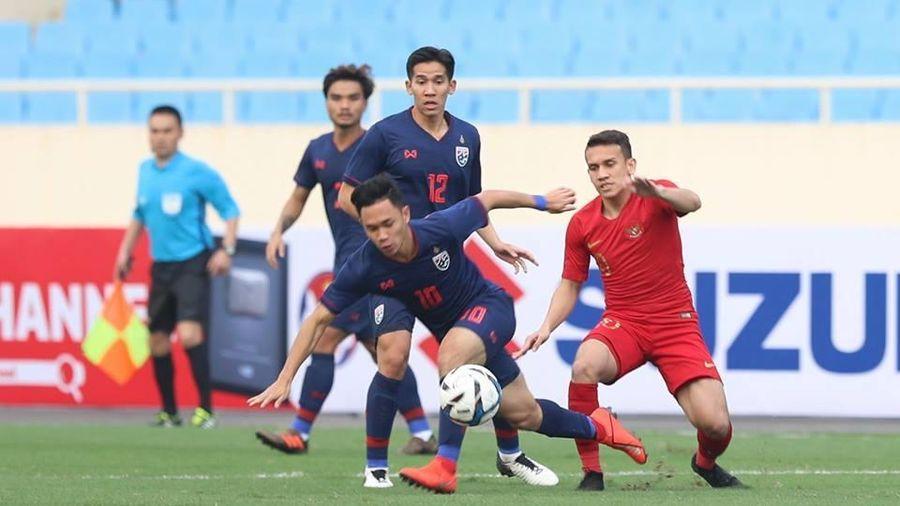 U22 Thái Lan 0-0 U22 Indonesia: Trận chiến khó lường (H1)