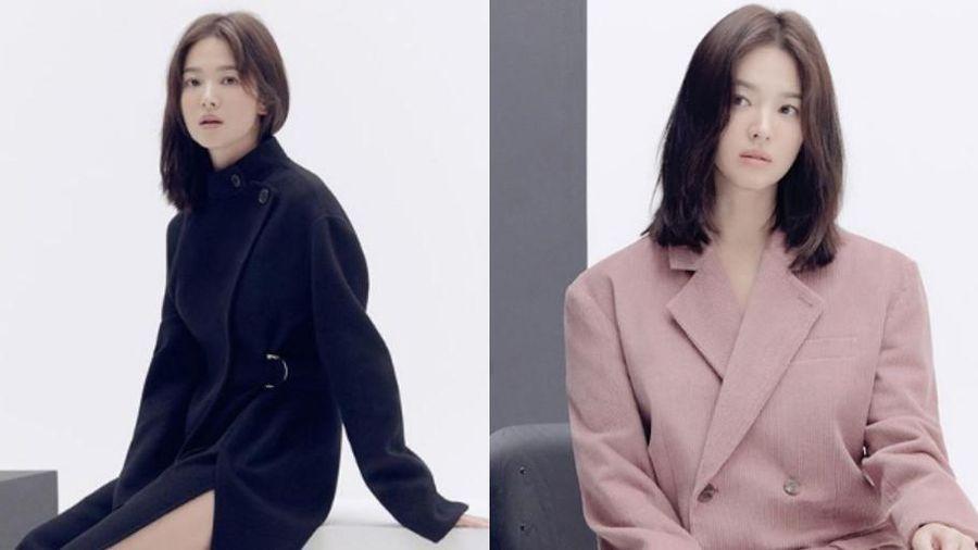 Sau chuỗi ngày chỉ đăng ảnh trời biển, Song Hye Kyo lộ diện mạo 'lão hóa ngược'