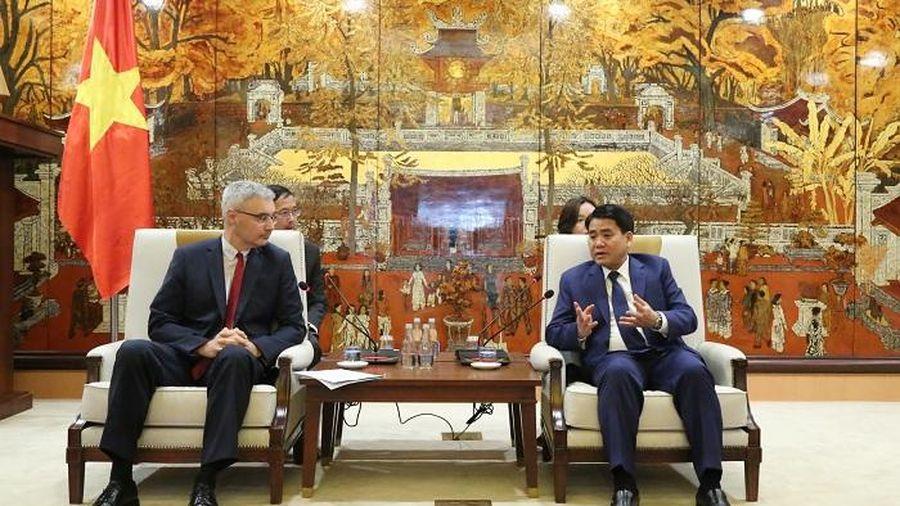 Pháp cam kết đồng hành cùng Hà Nội giảm thiểu ô nhiễm không khí