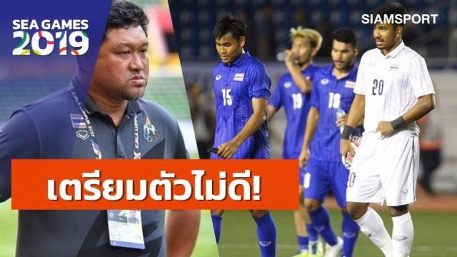 Thua sấp mặt U22 Indonesia 0 - 2, các HLV kỳ cựu của Thái Lan nhận xét gì về màn trình diễn của đội nhà?