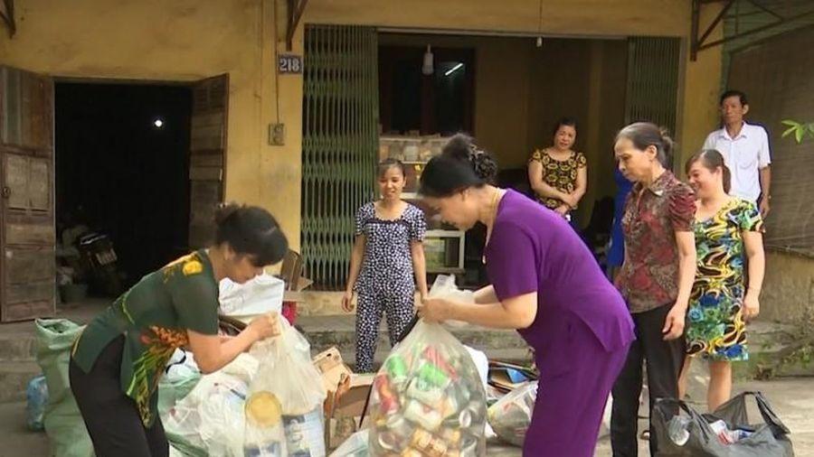 Thái Nguyên: Nuôi lợn nhựa từ rác giúp chị em khó khăn phát triển kinh tế