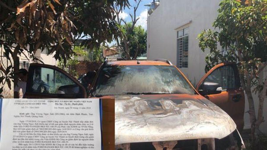 Vụ xe Ford Ranger cháy tại Quảng Nam: Chủ xe tiếp tục 'kêu cứu'