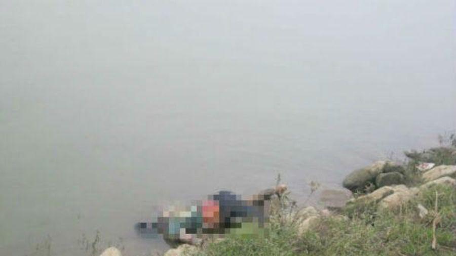 Xác chết trôi trên sông Gò Chàm ở Bình Định