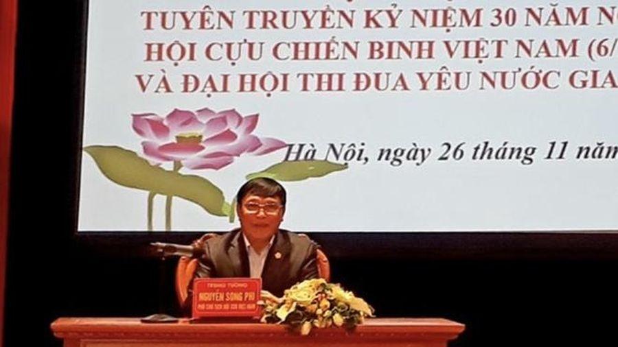 520 cựu chiến binh tiêu biểu về dự Đại hội thi đua yêu nước lần thứ VI