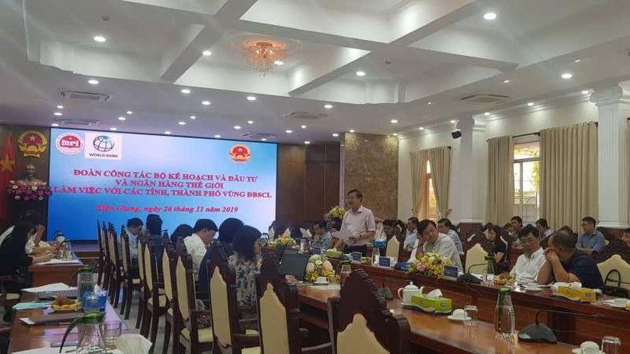 Bộ KHĐT lấy ý kiến các tỉnh về chính sách phát triển ĐBSCL