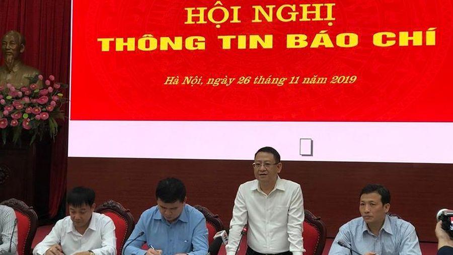 Hà Nội tạm dừng bàn giao mốc giới dự án nghĩa trang Thanh Tước