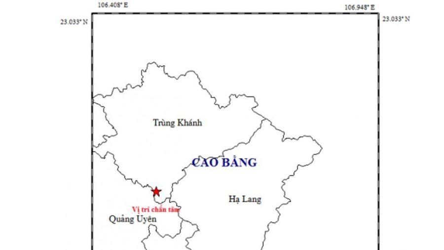 4 trận động đất xảy ra ở Cao Bằng chỉ trong 2 ngày